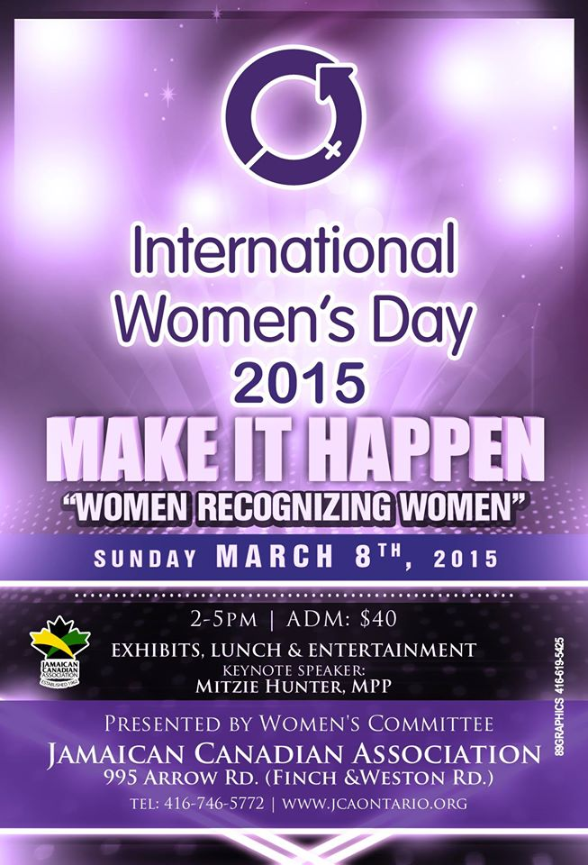 Int womens day event 2015