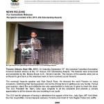JCA SCHOLARSHIP AWARDS