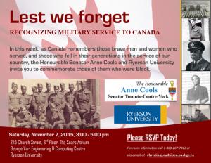 Remembrance Invitation 2015