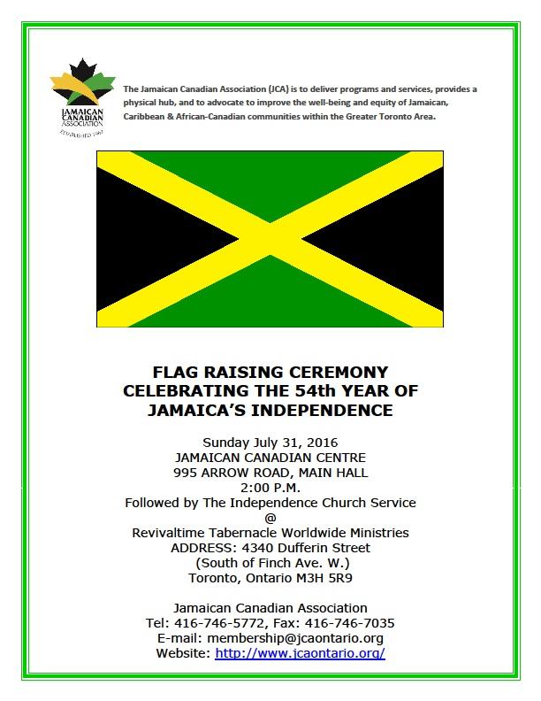 flag raising info 2016
