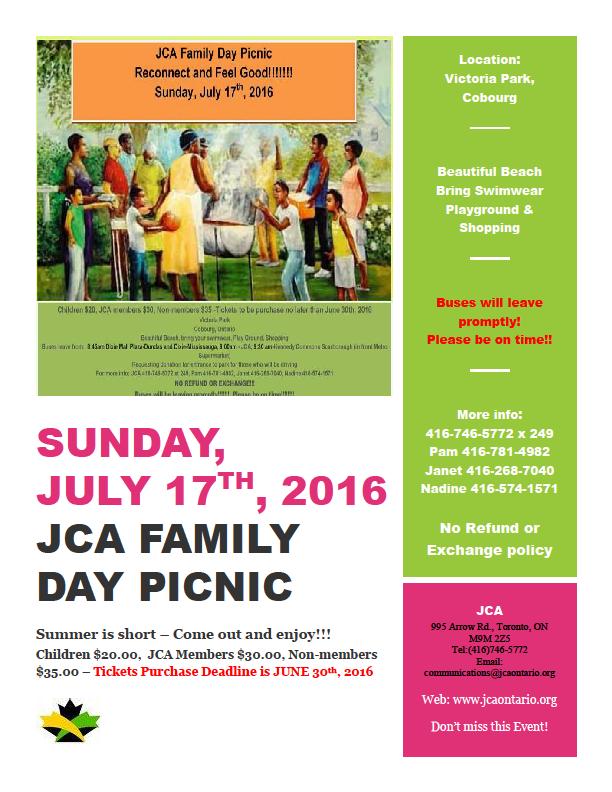 jca family day picnic