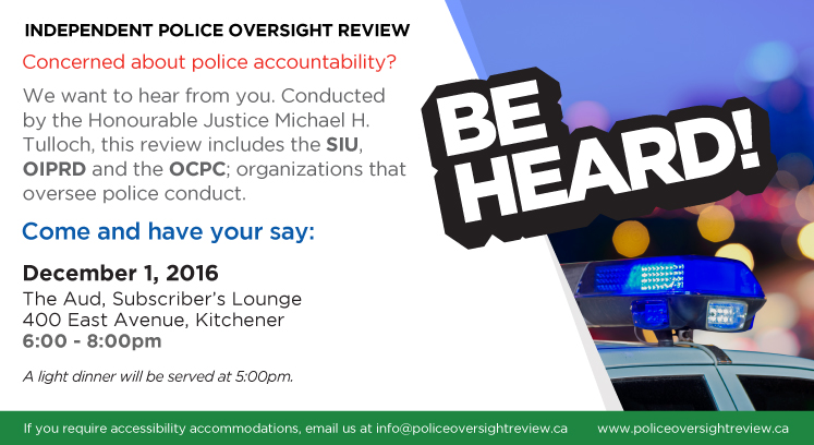 police-oversight-public-consultation-kitchener